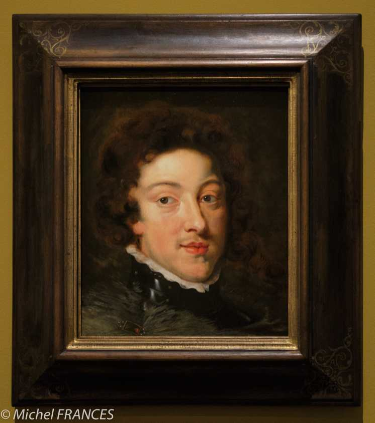 Musée du Luxembourg - exposition Rubens, portraits princiers - Pierre Paul Rubens - Portrait de Louis XIII, roi de France - 1622