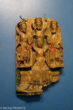 Musée Cluny moyen-age - Bas relief en albâtre