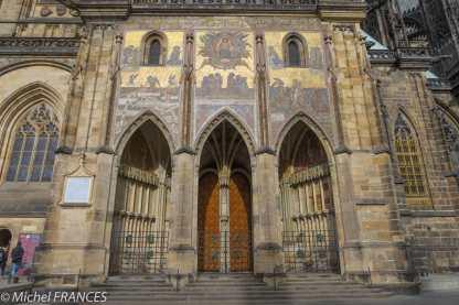La porte d'or de la cathédrale
