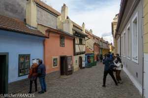 Chateau de Prague - La ruelle d'or