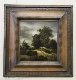 Palais Sternberg - Galerie nationale - Jacob Isaac van Ruysdael - chemin entre les arbres