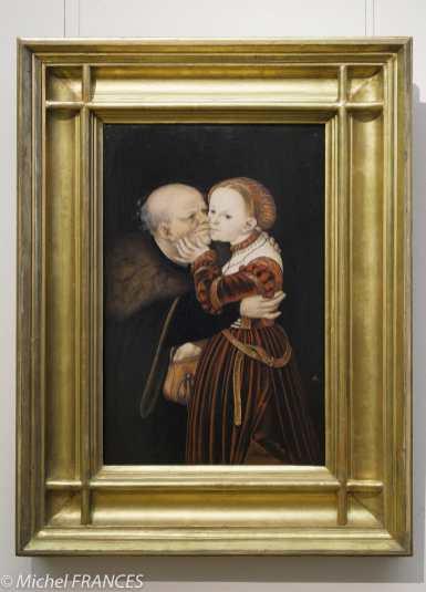 Palais Sternberg - Galerie nationale - Lucas Cranach l'aîné - Le vieux fou - vers 1530