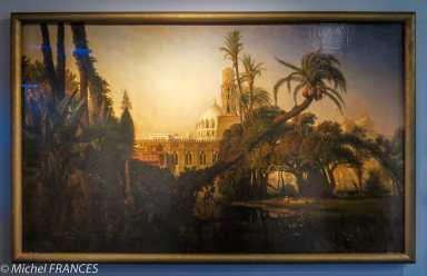 Musée du quai Branly - Peintures des lointains - Prosper Marilhat - Mosquée dans la basse Égypte