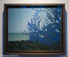 Musée du quai Branly - Peintures des lointains - Marcel Mouillot - Site du volcan à la Réunion - vers 1931