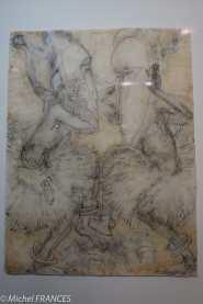 Musée du quai Branly - Peintures des lointains - Loius-Robert Bâte - Gamboula / Oubangui-Chari (RCA) - vers 1933