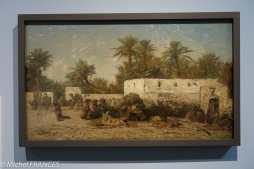 Musée du quai Branly - Peintures des lointains - Eugène Fromentin - Campement arabe - 1850