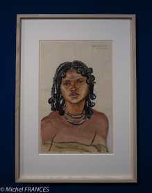 Musée du quai Branly - Peintures des lointains - juliette Delmas - Faritsoangy / Mahafaly - 1935