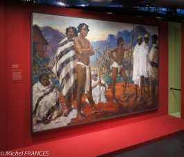 Musée du quai Branly - Peintures des lointains - Suzanne Frémont - Chez les Bara