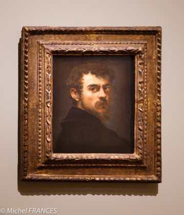 Musée du Luxembourg - Tintoret, naissance d'un génie - Autoportrait - vers 1547
