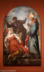 Musée du Luxembourg - Tintoret, naissance d'un génie - La Princesse, saint Georges et saint Louis - 1551