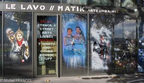 La vitrine du Lavomatik