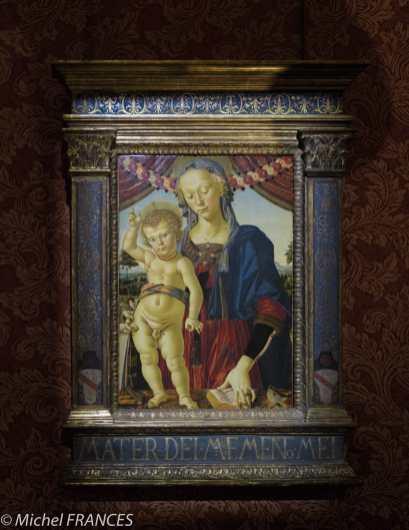 Musée Jacquemart-André - Le Perugin - La Vierge à l'Enfant - vers 1470