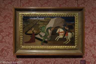 Musée Jacquemart-André - Paolo Ucello - Saint Georges terrassant le dragon