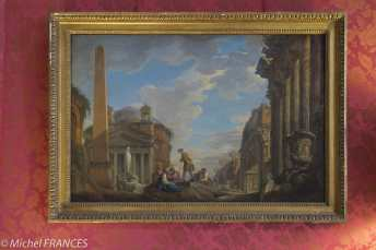 Musée Jacquemart-André - Giovanni Paolo Panini - Caprice architectural - vers 1745