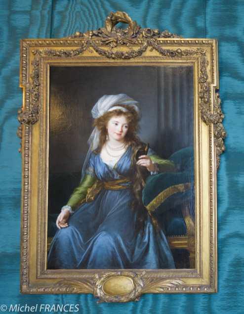 Musée Jacquemart-André - Élisabeth Vigée-Lebrun - Portrait de la comtesse Catherine Skavronskaïa - vers 1790