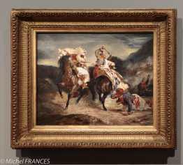 exposition Eugène Delacroix - Combat du Giaour et du Pacha