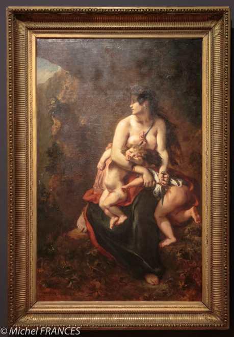 exposition Eugène Delacroix - Médée furieuse