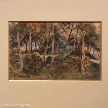exposition Eugène Delacroix - Sous-bois