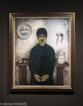 Musée Maillol - Exposition Foujita - Autoportrait de l'artiste - 1921