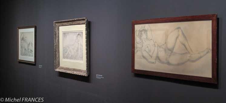 Musée Maillol - Exposition Foujita - Les nus féminins