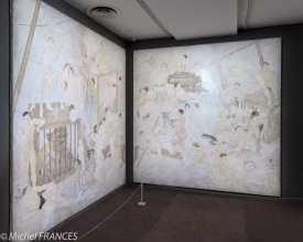 Musée Maillol - Exposition Foujita - Quatre panneaux destinés à la fresque monumentale de la CitéU (jamais livrée)