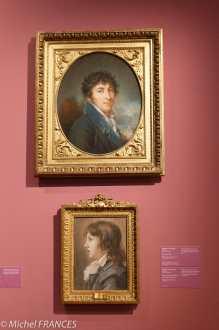 expo Pastels - Élisabeth Louise Vigée Le Brun - Homme anonyme - Auguste Jules Armand Marie de Polignac