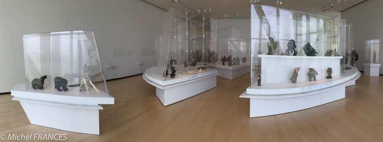 La salle de l'art inuit
