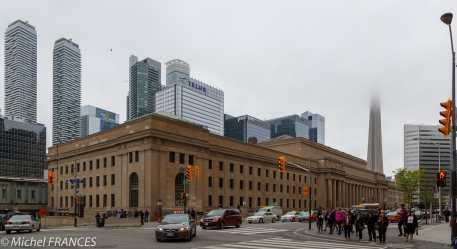 Toronto - la gare centrale d'Union Station