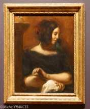 musée des beaux-arts d'Ottawa - Collection Ordrupgaard - Eugène Delacroix - George Sand - 1838