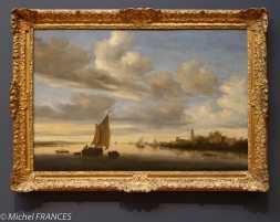 musée des beaux-arts d'Ottawa - Salomon Van Ruysdael - Paysage fluvial - vers 1650