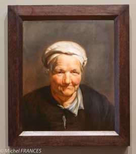 musée des beaux-arts d'Ottawa - Pierre Paul Rubens - Tête de vieille femme - vers 1615