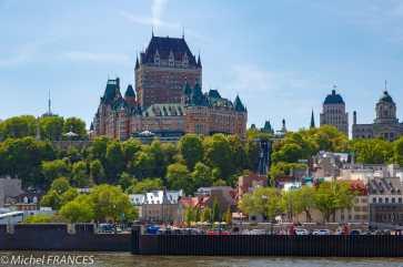 Québec depuis le traversier
