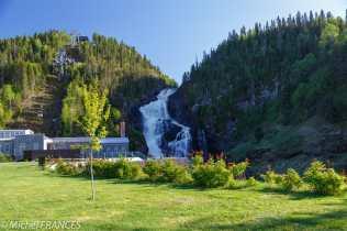 Val-Jalbert - les chutes d'Ouiatchouan