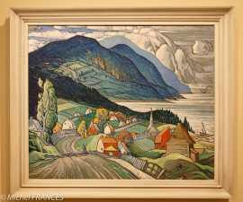musée des beaux-arts de Montréal - Marc-Aurèle Fortin - saint-Siméon - vers 1938