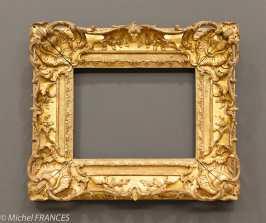 expo sur les cadres - cadre de style Louis XV - France 1730-1760 -