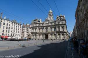 L'Hôtel de Ville sur la Place des Terreaux