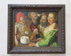 musée des beaux-arts de Lyon - Vincenzo Campi - Les mangeurs de ricotta