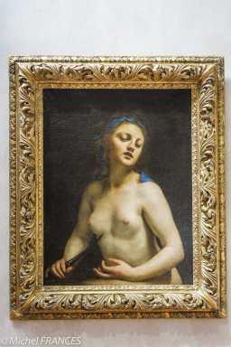 musée des beaux-arts de Lyon Guido Cagnacci - Lucrèce - vers 1657