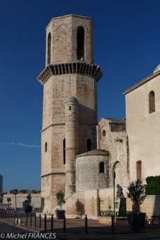 L'église St-Laurent en bordure du Panier est la paroisse des pêcheurs de Marseille