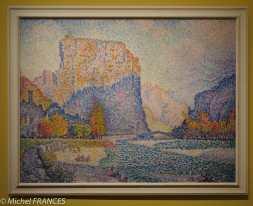 Paul Signac - Castellane - 1902