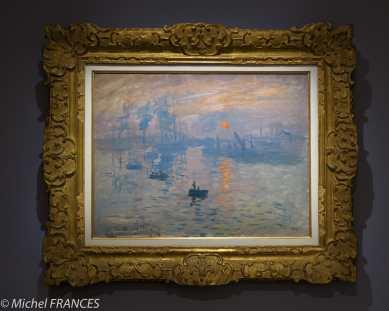 Marmottan Monet - Claude Monet - Impression soleil levant