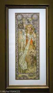 Musée du Luxembourg - Expo Mucha - superbe Jeanne d'Arc