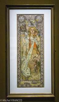 Musée du Luxembourg - Expo Mucha - superbe Jeanne d'Arc