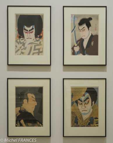 Natori Shunsen - Portraits d'acteurs