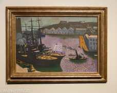Musée beaux-arts de Brest - Maurice Denis - Le port de Brest - 1932