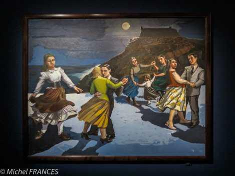 Orangerie - expo Paula Rego - La danse - 1988
