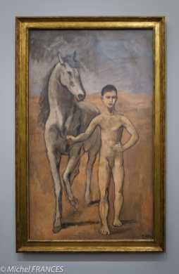musée d'Orsay, exposition Picasso rose et bleu - Meneur de cheval nu - 1905-1906