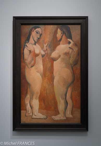 musée d'Orsay, exposition Picasso rose et bleu - Deux nus - 1907