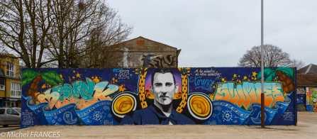 La Rochelle, street art avant démolition