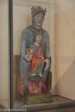 Catalogne ou Centre de la France - vers 1200-1220 - Vierge en majesté dite Notre-Dame de Baroilles